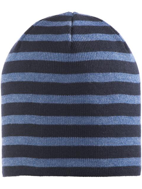 Elkline Hamburgerchen Knitted Hat Kids Blueshadow-Darkdenim